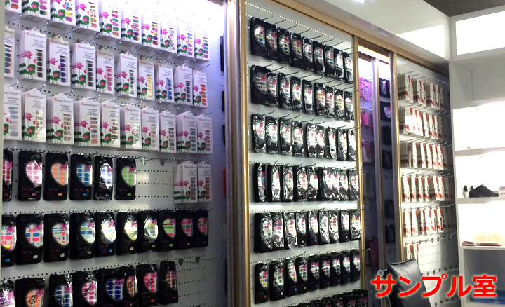 中国ネイルシール製作工場